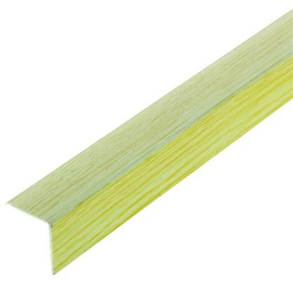 Угол 20x20x2700 мм ПВХ цвет салатовый цена