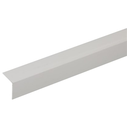 Угол 20x20x2700 мм ПВХ цвет серый цена