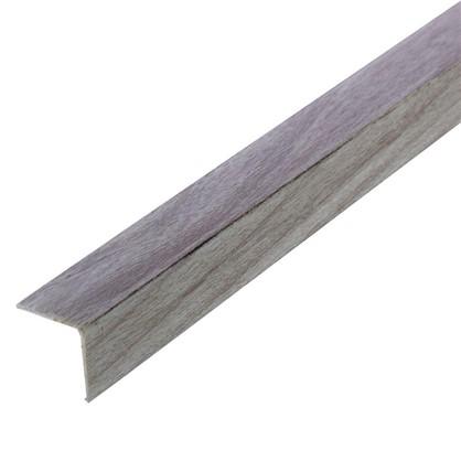 Угол 20x20x2700 мм ПВХ цвет ясень светло-серый цена