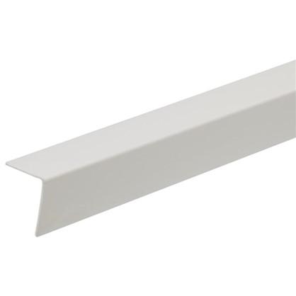Угол 30x30x2700 мм ПВХ цвет белый цена