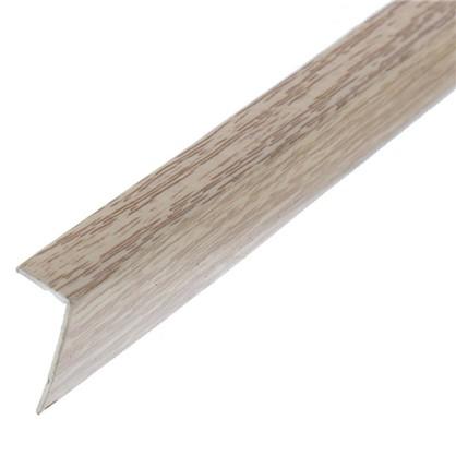 Угол арочный 10х20х2700 мм ПВХ цвет дуб аляска цена