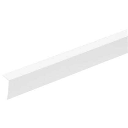 Угол арочный 10х20х2700 мм ПВХ цвет серый цена