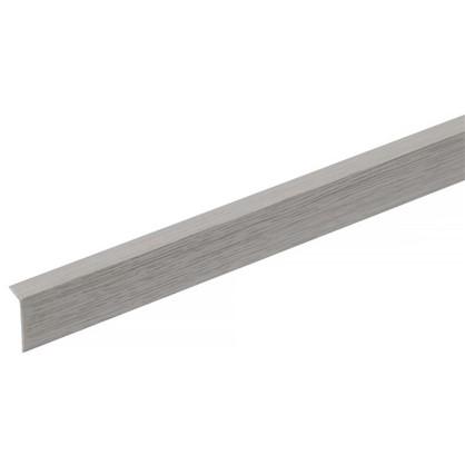 Угол арочный 10х20х2700 мм ПВХ цвет ясень серый цена