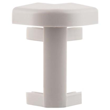 Угол для плинтуса под ковролин/линолеум внешний 50 мм 2 шт. цена