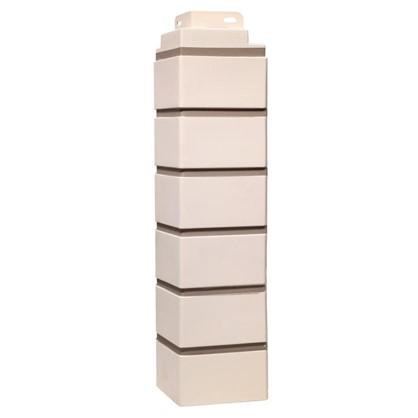 Угол наружный FineBer Кирпич облицовочный цвет белый цена