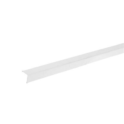 Угол периметральный стальной 19х19x3000 мм цвет белый цена