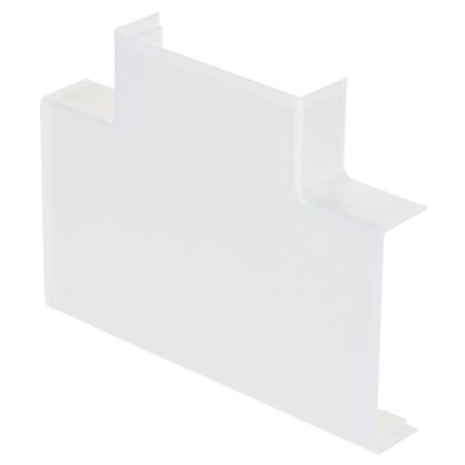 Угол Т-образный 74х20 мм цвет белый 2 шт.