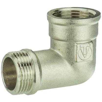 Угол Valtec внутренняя-наружная резьба 1 мм никелированная латунь цена