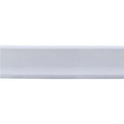 Уголок керамический прямой 200х35 мм цвет белый цена