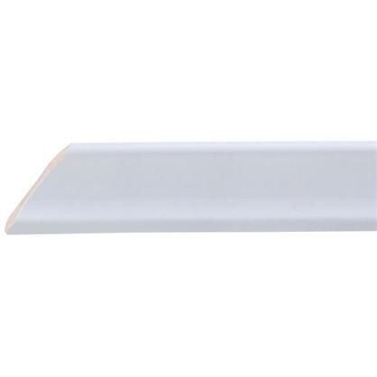 Уголок керамический срез левый 45 градусов 200х34 мм цвет белый цена