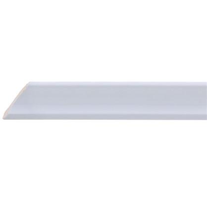 Уголок керамический срез левый 45 градусов 250х35 мм цвет белый цена