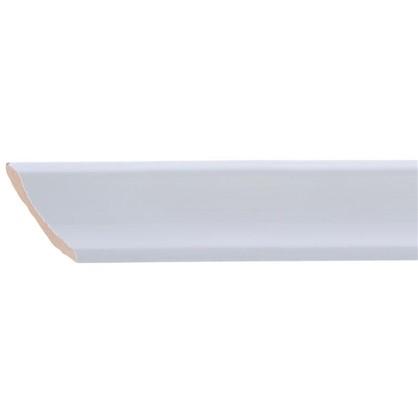 Уголок керамический срез правый 45 градусов 200х35 мм белый цена