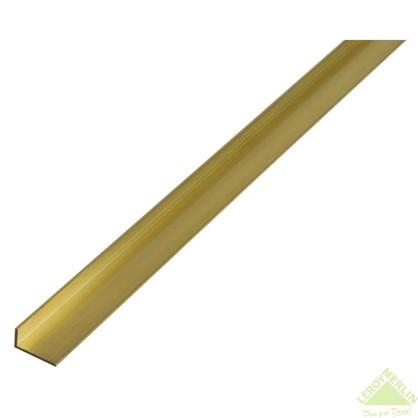 Уголок латунный 20x10x1.5x1000 мм цена