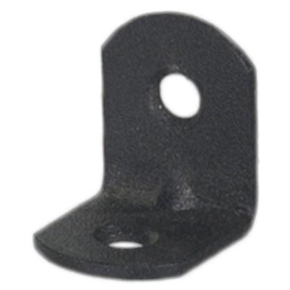 Уголок мебельный 20х20х16 мм сталь/пластик цвет черный 8 шт. цена