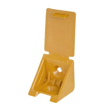 Уголок монтажный 25 мм пластик цвет вишня 8 шт. цена
