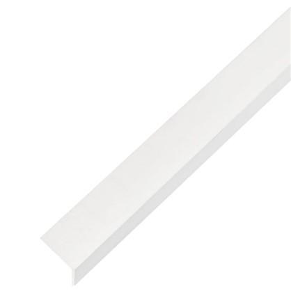 Уголок ПВХ 25x25x1.8x1000 мм цвет белый
