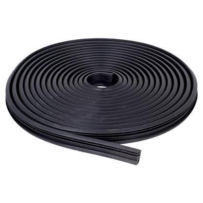 Уплотнитель оконный 5.5 м цвет чёрный цена