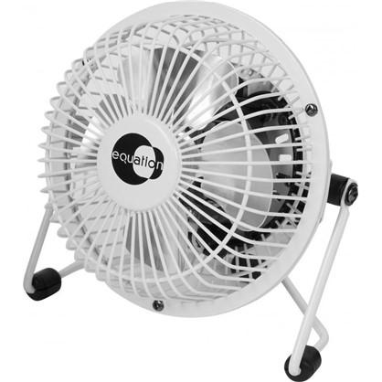 Вентилятор настольный 10 см 15W бел цена
