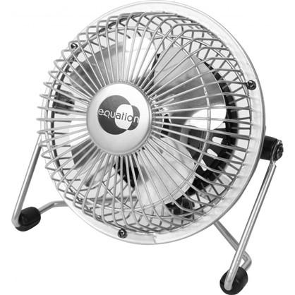 Вентилятор настольный 10 см 15W сереб