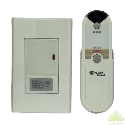 Выключатель Anam Zunis 1 клавиша дистанционное управление с подсветкой цвет белый