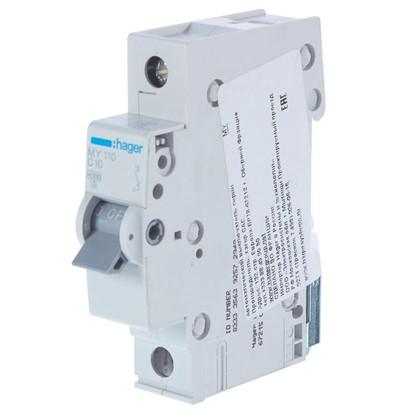 Автоматический выключатель Hager 1 полюс 10 A