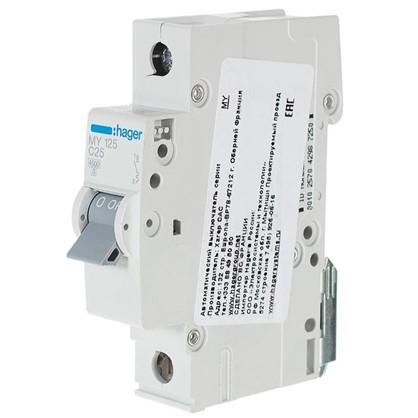 Автоматический выключатель Hager 1 полюс 25 A