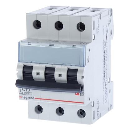 Автоматический выключатель Legrand 3 полюса 10 А