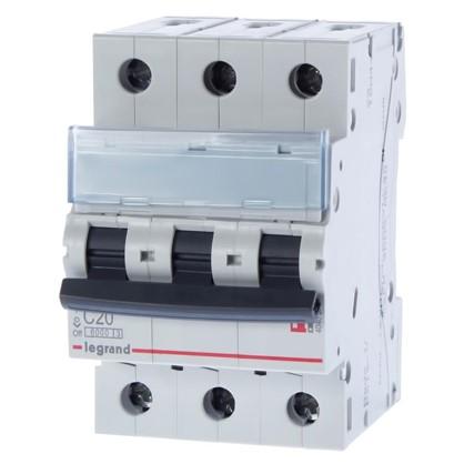 Автоматический выключатель Legrand 3 полюса 20 А цена