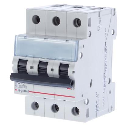 Автоматический выключатель Legrand 3 полюса 40 А
