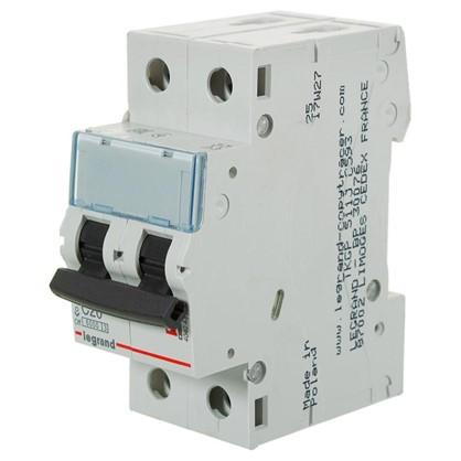 Автоматический выключатель Legrand TX3 2 полюса 20 A цена