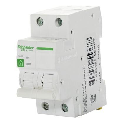 Автоматический выключатель Schneider Electric Resi9 2 полюса 20 A цена