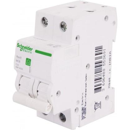 Автоматический выключатель Schneider Electric Resi9 2 полюса 32 A цена