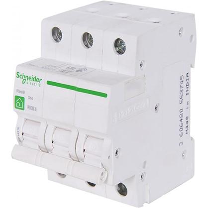 Автоматический выключатель Schneider Electric Resi9 3 полюса 10 A цена