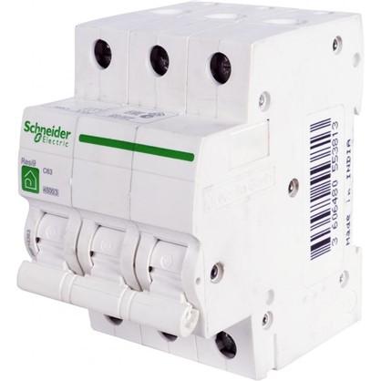 Автоматический выключатель Schneider Electric Resi9 3 полюса 63 A цена