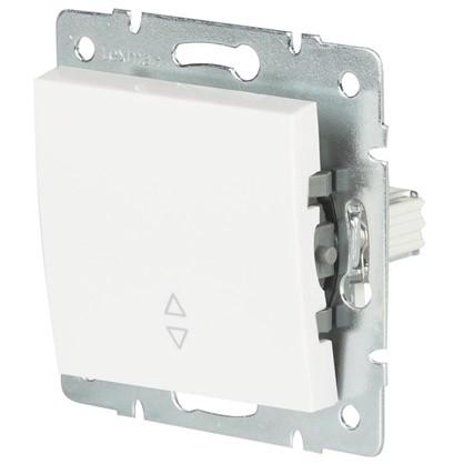 Выключатель проходной Lexman Виктория 1 клавиша цвет белый цена