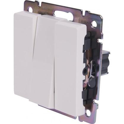 Выключатель WL01-SW-3G-C 3 клавиши цвет белый