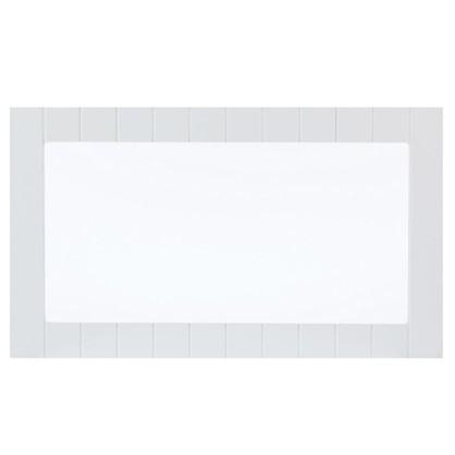 Витрина Delinia Фенс 60х35 см МДФ цвет белый