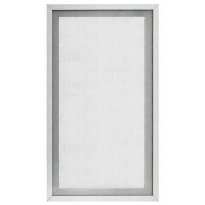 Витрина для шкафа Гауз 40х70 см алюминий/стекло цвет бежевый цена