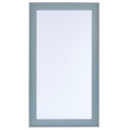 Витрина Фрост 40х92 см алюминий/стеклоцвет матовый алюминий цена