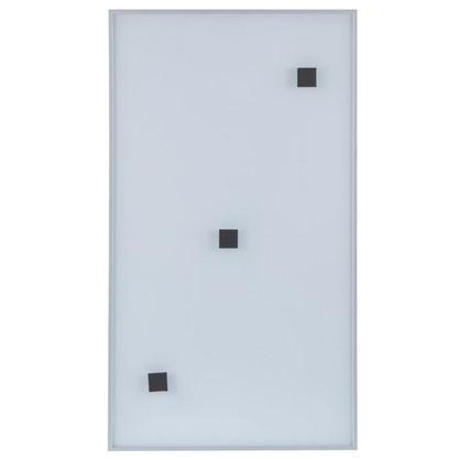 Витрина Магнетик магнитная 40х92 см алюминий/стекло цвет серебро
