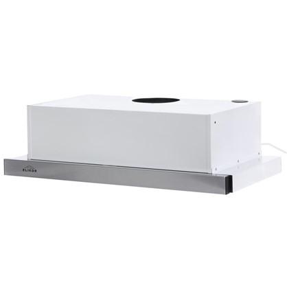 Вытяжка встриваемая Elikor Line 60 см цвет белый/хром цена