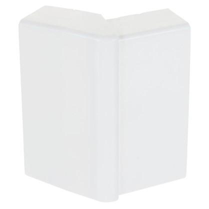 Внешний угол изменяемый 74х20 мм цвет белый 2 шт. цена