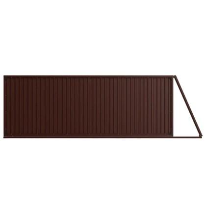 Ворота откатные Doorhan Revolution 4.5х2.2 м цвет шоколадно-коричневый цена