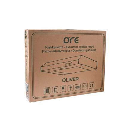 Воздухоочиститель Ore Oliver 50 см цвет белый