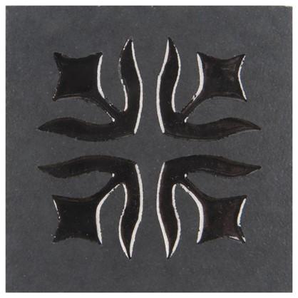 Вставка Лимож 6х6 см цвет черный цена