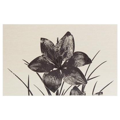 Вставка Пиано 1 25х40 см цвет серый