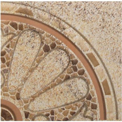 Вставка угловая Тенерифе 14х14 см цвет серый