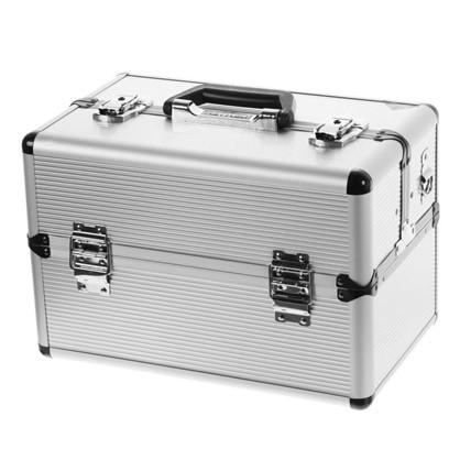 Ящик для инструмента Dexter 365х225х250 мм алюминий/ДВП цвет серебро цена