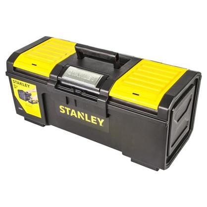 Ящик для инструмента Stanley 280х257х593 мм пластик цвет черный/желтый
