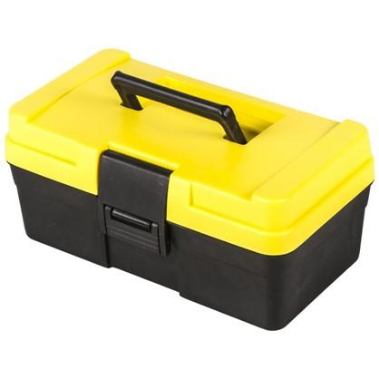 Ящик для инструмента Systec 151х125х285 мм пластик цвет черно-желтый